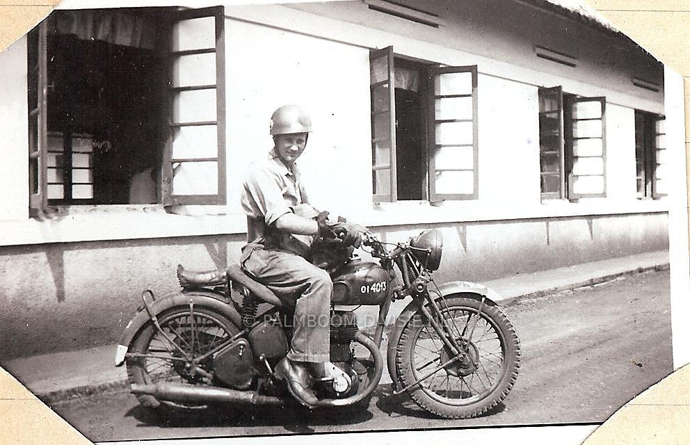 Semphak, 18 april 1948, Aart van de Bor, zwager van E.J.