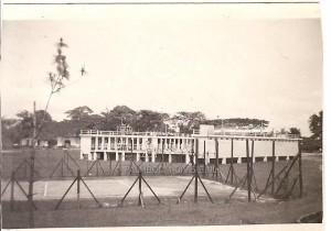 Maart 1948, zwembad Palembang