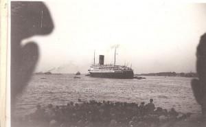 "10 Februari 1950, a/b de ""Pasteur"", Colombo"